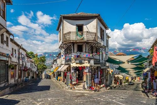 Gjirokaster en Albania