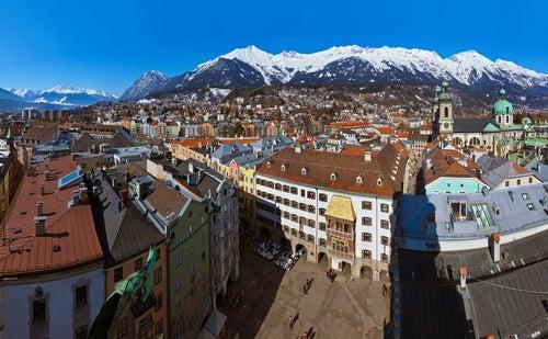 Un encuentro con historia en las calles de Innsbruck