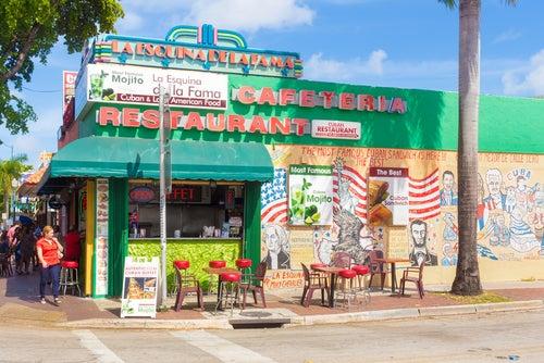 Pequeña Havana en Miami