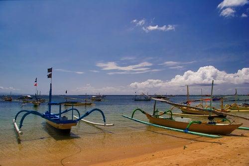 Playa de Legian en Bali
