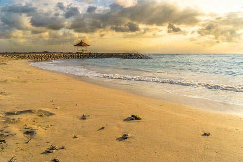Playa de Sanur en Bali
