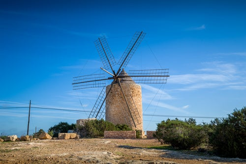 Molino en Formentera