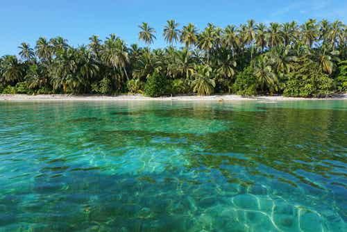 5 playas de Centroamérica con agua cristalina