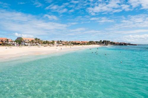 Isla de Sal en Cabo Verde