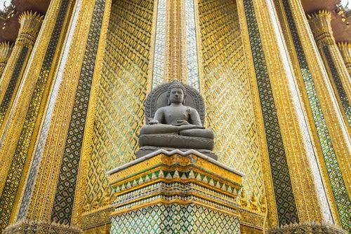 Buda de Esmeralda en el Gran Palacio de Bangkok