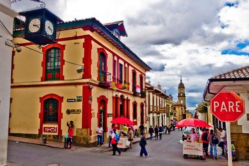 Barrio de la Candelaria en Bogotá