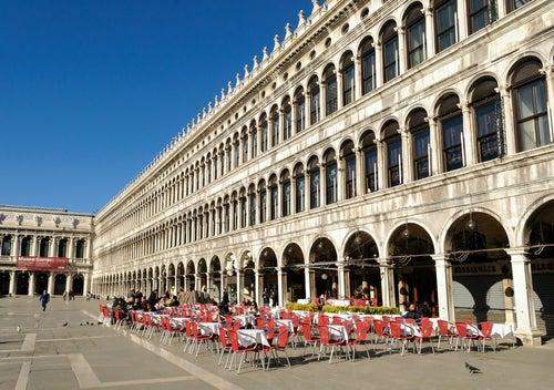 Cafetería Quadri en Venecia