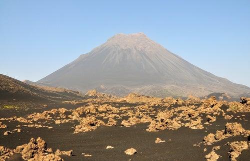 Isla de Fogo en Cabo Verde