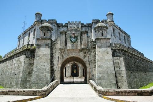 Castillo de la Real Fuerza en Habana Vieja
