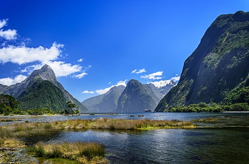 Milford Sounds en Nueva Zelanda