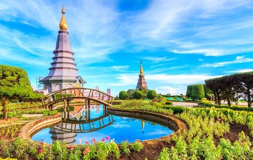 Pagodas en Doi Inthanon