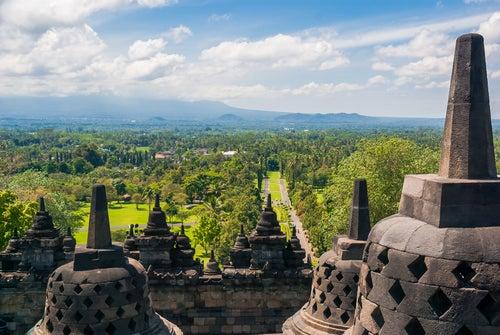 Vista desde Bodobudur