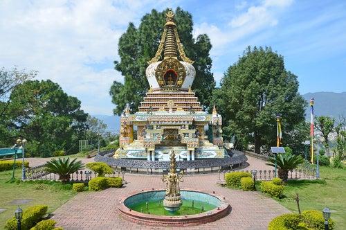 Monasterio budista en Nepal