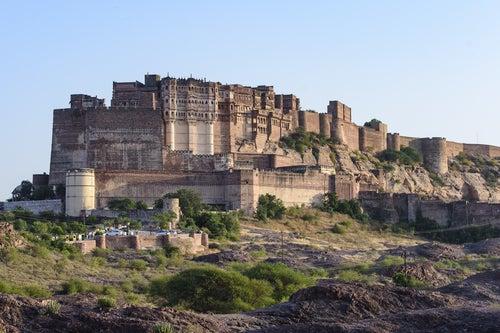 Fortaleza de Mehrangarh en Jodhpur