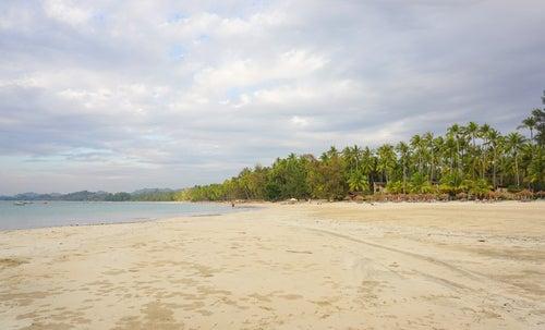 Ngapaly en Myanmar