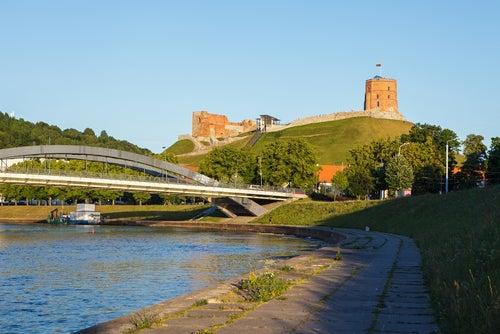 Castillo de Gediminas en Vilna