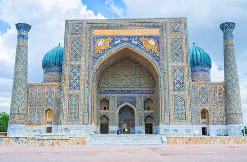 Samarkanda en la Ruta de la Seda
