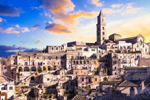 Matera en Italia, una ciudad particular