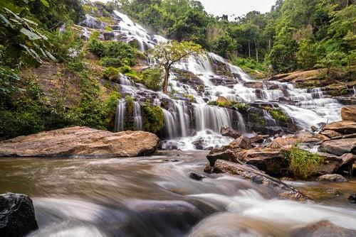Cascada en Doi Inthanon