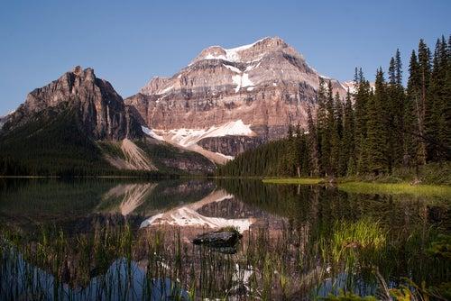 Lago Shadow en Canadá