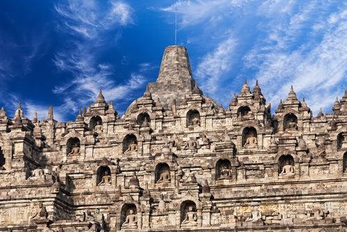 Detalle de Bodobudur