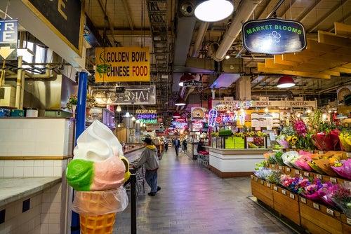 Reading Terminal Market en Filadelfia