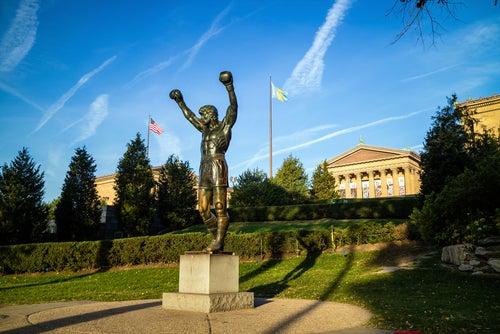Estatua de Rocky en Filadelfia