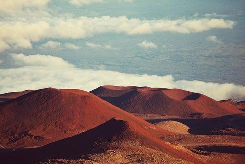 Mauna Kea en el Parque Nacional de los Volcanes