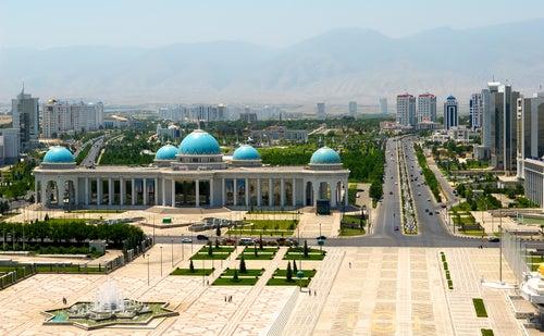 Ashgabat en Turkmenistán