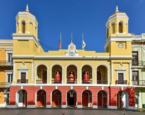 Plaza de Armas en el Viejo San Juan
