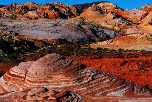 El increíble Valle del Fuego en Nevada