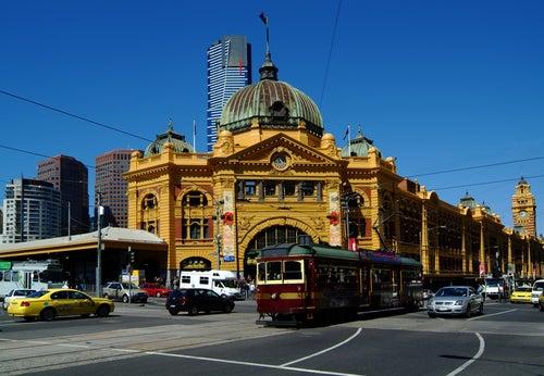 Tranvía en Melbourne