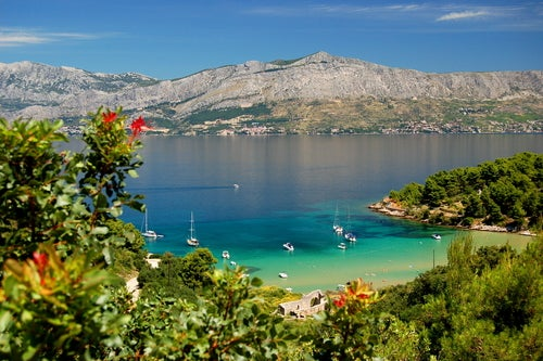La preciosa isla de Brac en Croacia