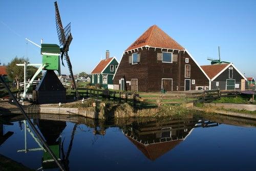 Zaanse Schans en Holanda