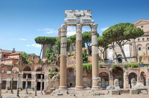 Templo de Cástor y Pólux en el Foro Romano