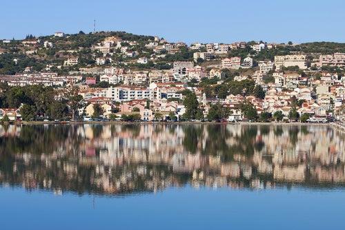 Argostoli en Cefalonia