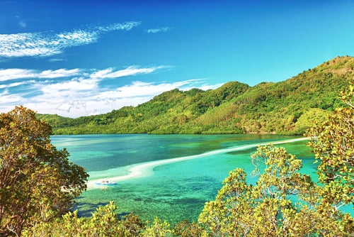 Isla Snake en Filipinas