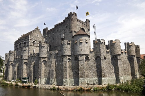 Castillo de los Condes de Flandes en Gante