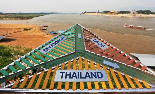 Triángulo de Oro en Chiang Rai