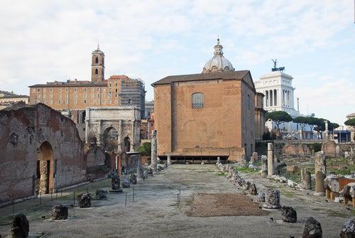Basílica Emilia en el Foro Romano