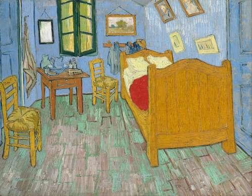 La habitación de Vincent Van Gogh-
