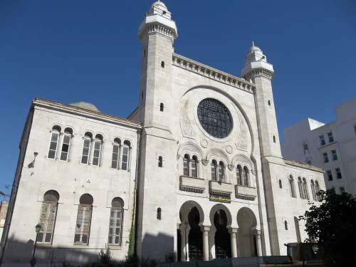 Mezquita en Orán