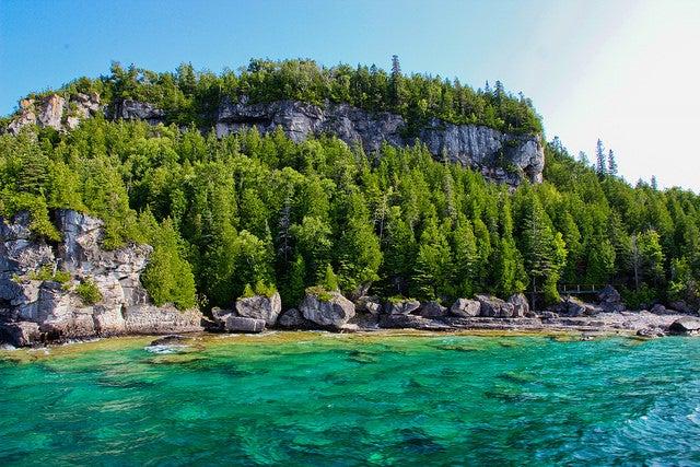 Parque nacional Fanthon Five en Canadá