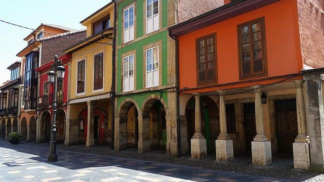 Calle Galiana en Avilés