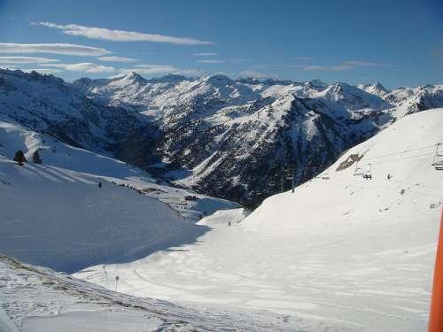 Baqueira Beret, la mayor estación de esquí de España
