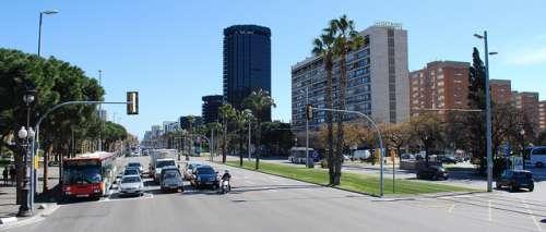 Avenida Diagonal de Barcelona