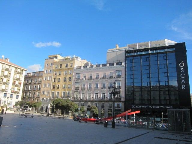 Plaza Vázquez de Mella en Madrid