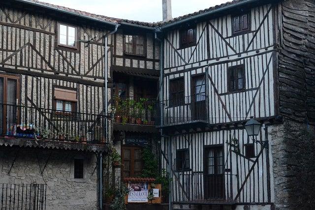 Casas típicas de Mogarraz