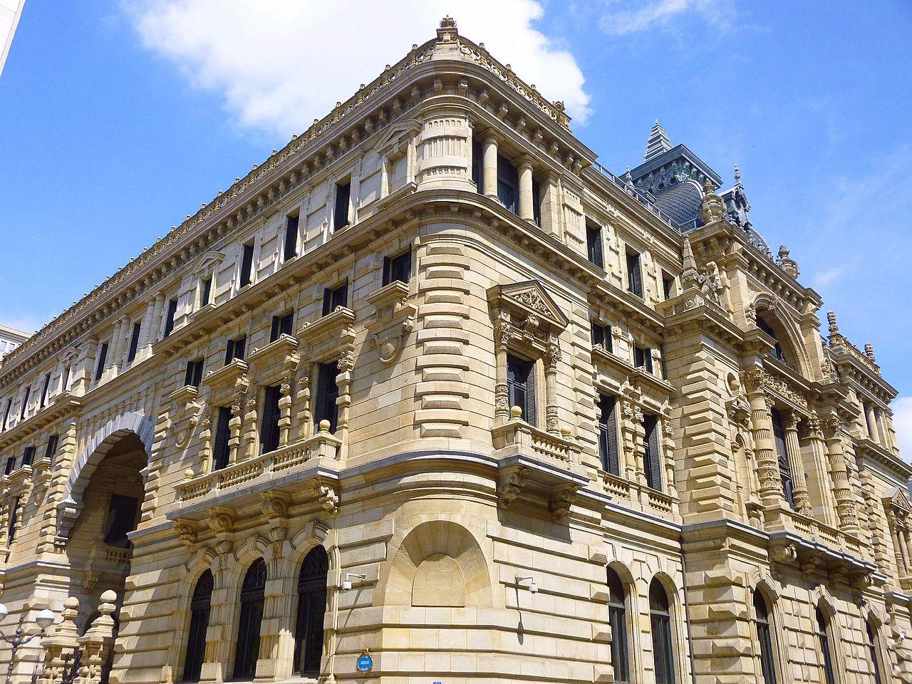 Palacio de la Diputación Foral de Vizcaya en Bilbao
