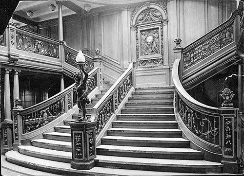 Escaleras del Titanic